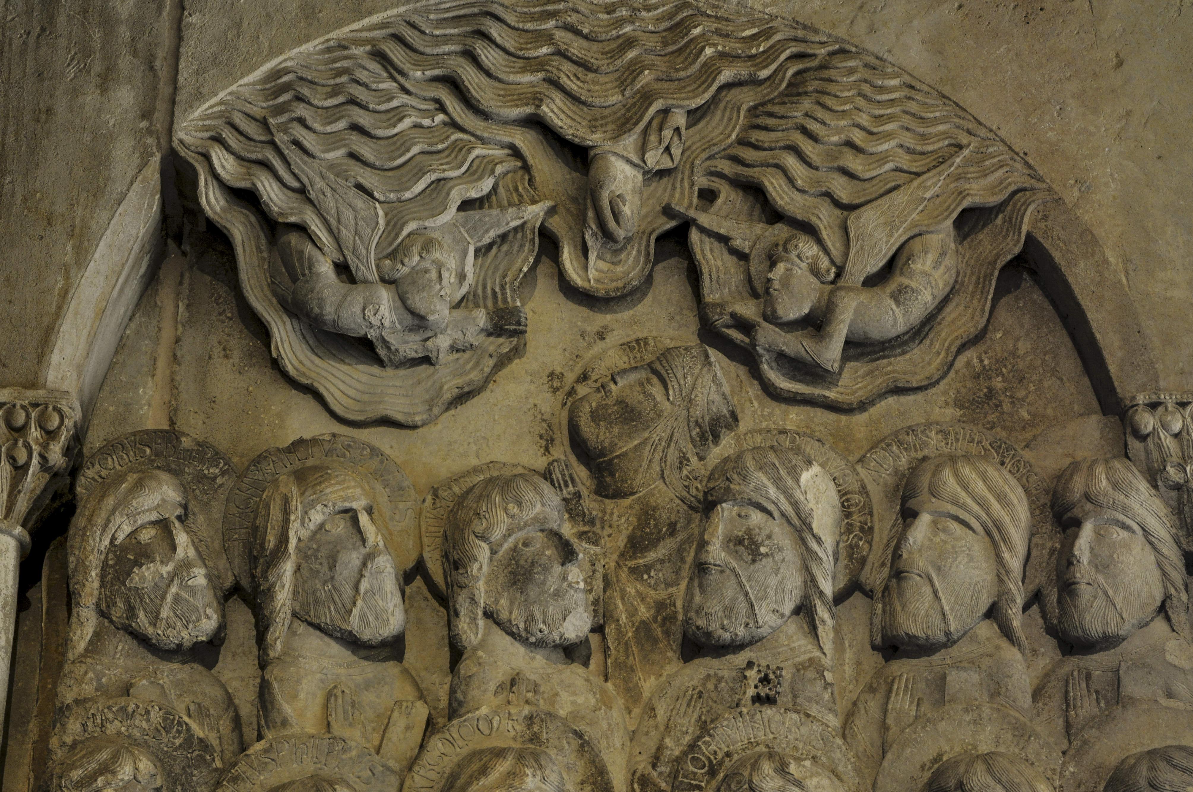 Relief Sculpture at Santo Domingo de Silos